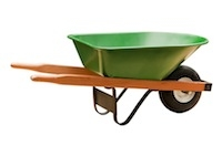 Wheelbarrow Flat Proof Tires