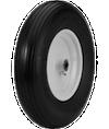 Flat Free Ribbed Wheelbarrow Tires