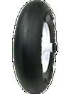 flat free smooth wheelbarrow tires