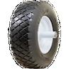 Flat Free Knobby Wheelbarrow Tires